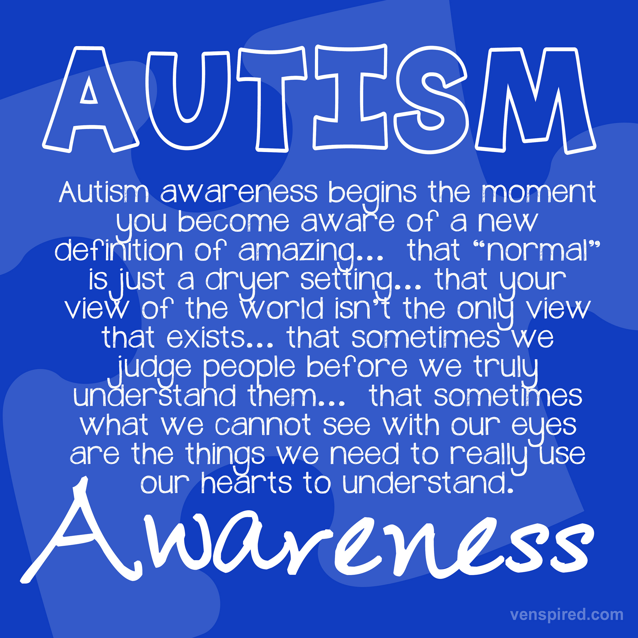 Autism Awareness Month 2014 | www.imgkid.com - 1358.2KB